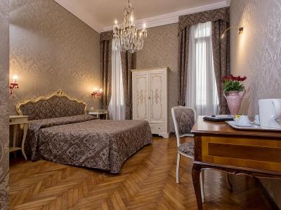 Habitación Doble Hotel Mezzo Pozzo en el Centro de Venecia